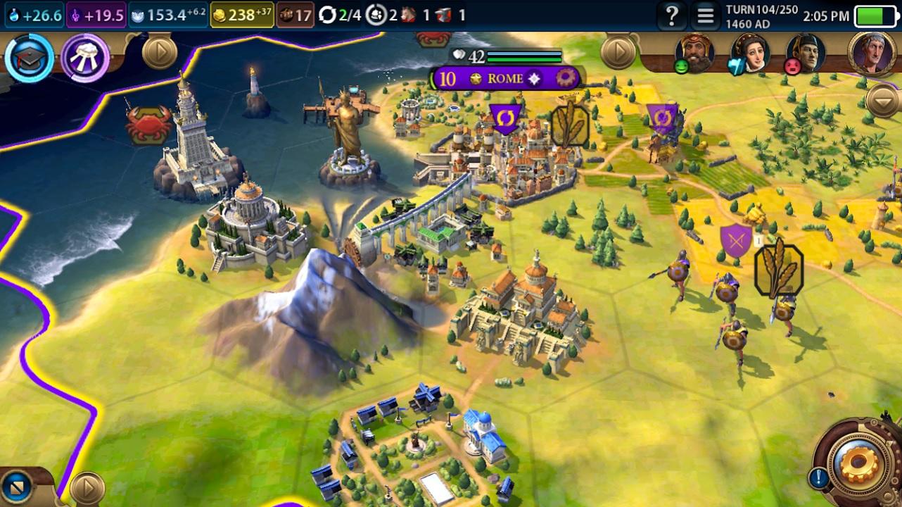 Civilization VI на Андроид