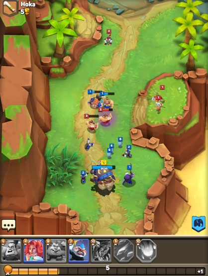 Clash of Tribes: Stone Age Battle на Андроид