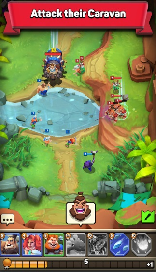 Clash of Tribes: Stone Age Battle на ПК