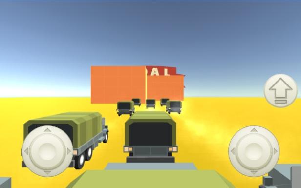 Cluster Traffic: Parkour Trucks на Андроид