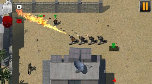 Combat rush на Андроид