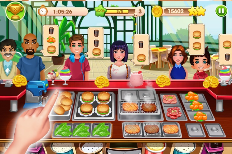 Cooking Talent - Restaurant fever на ПК