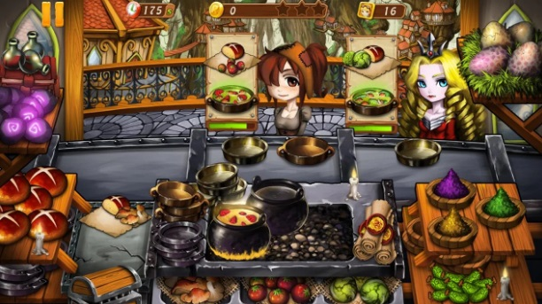 Cooking Witch на ПК