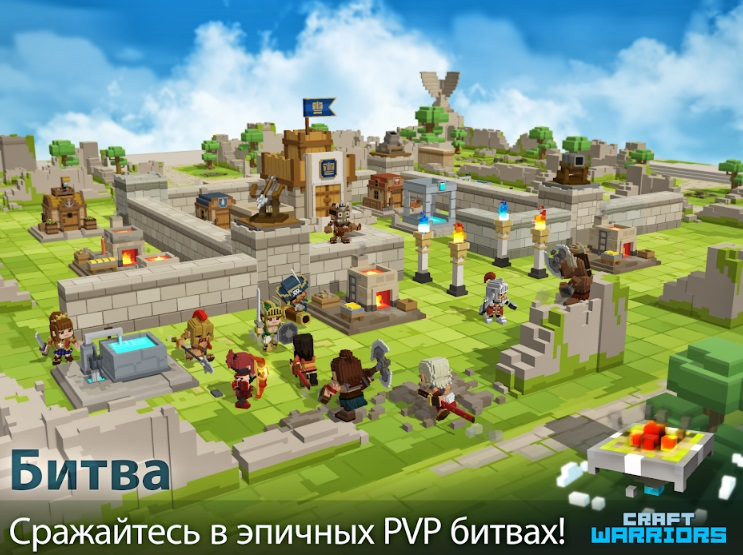 Craft Warriors на Андроид