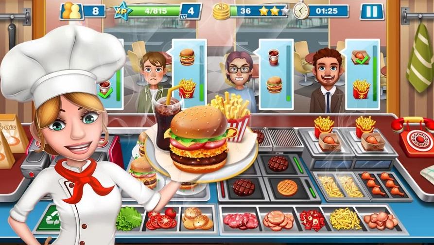 Скачать игру на телефон повар
