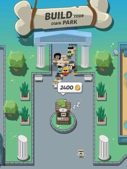 Crazy Dino Park на Андроид