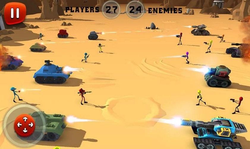 Creepy Aliens Battle Simulator 3D на Андроид