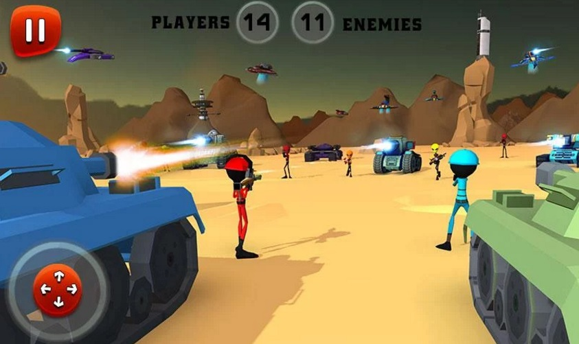 Creepy Aliens Battle Simulator 3D на ПК