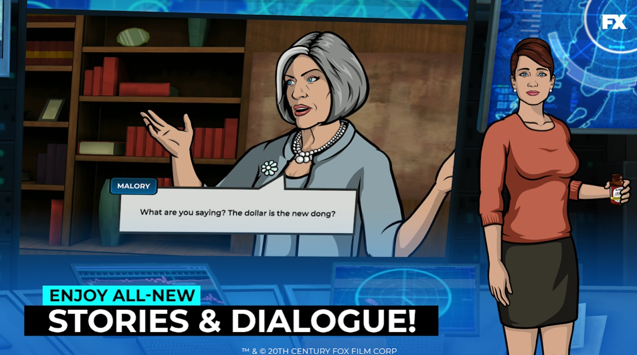 Archer: Danger Phone на Андроид