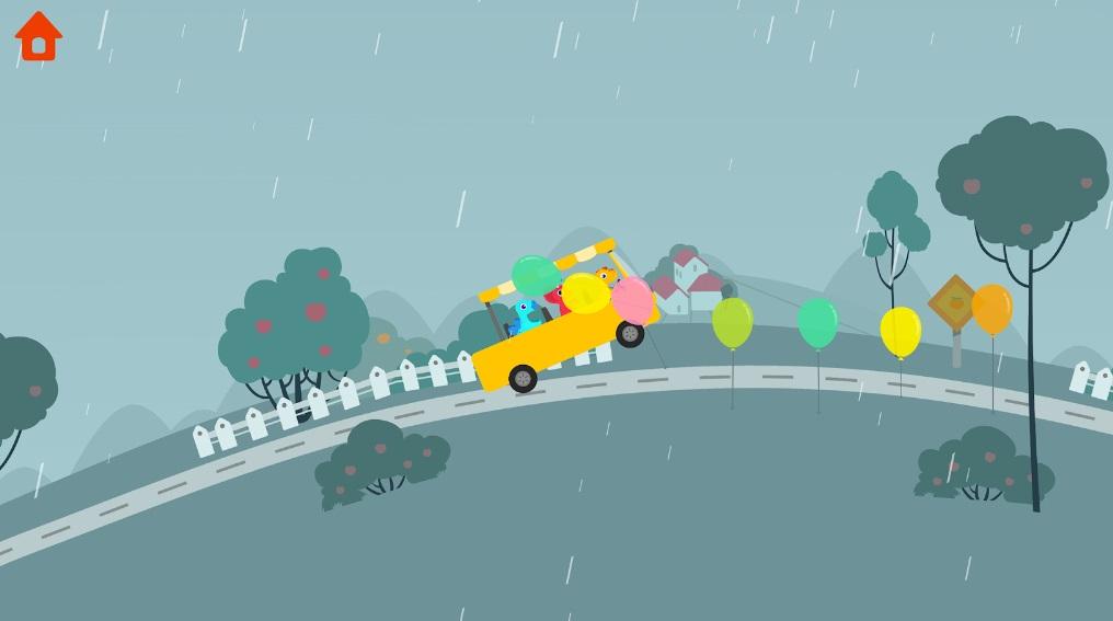 Dinosaur Bus на Андроид