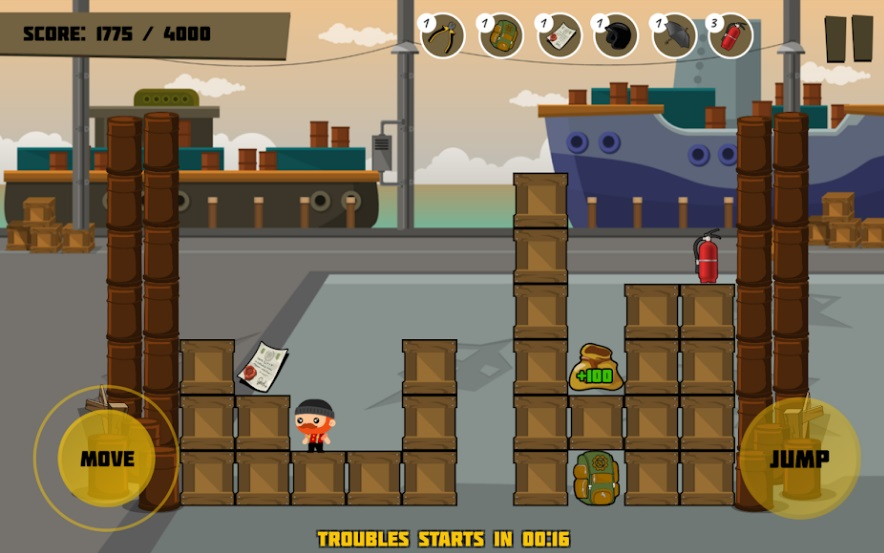 Dockers: Moving Blocks and Stack Attack на Андроид