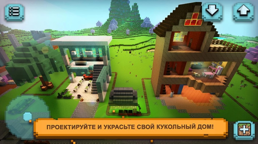 Dollhouse Craft 2: Дизайн кукольного домика на Андроид