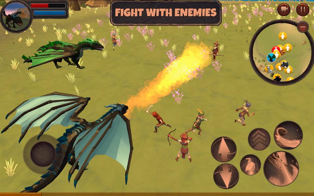 Dragon Simulator 3D: Adventure Game на Андроид