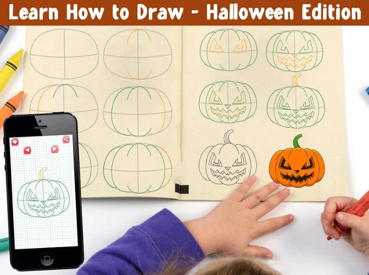 How To Draw Halloween на Андроид