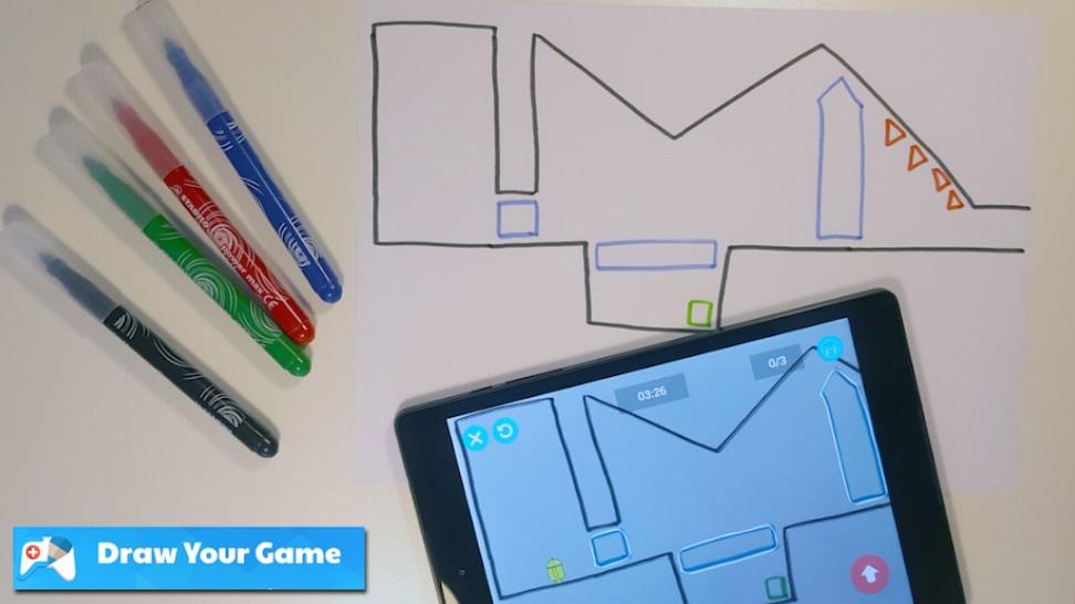 Draw Your Game на Андроид