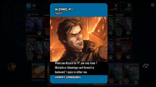 The Dresden Files: Cooperative Card Game на Андроид