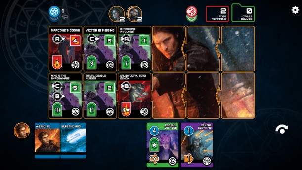 The Dresden Files: Cooperative Card Game на ПК