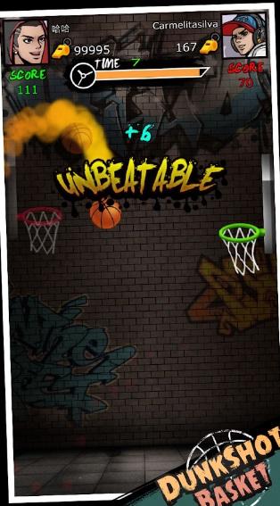 Dunk Shot Basket на Андроид