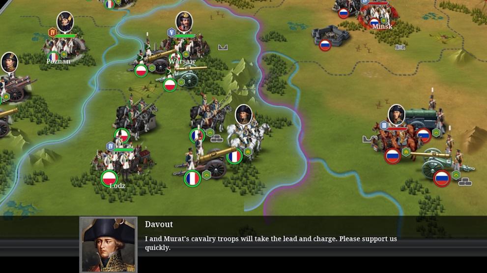 European War 6: 1804 на Андроид