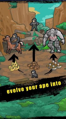 Мир Эволюции Обезьян на Андроид
