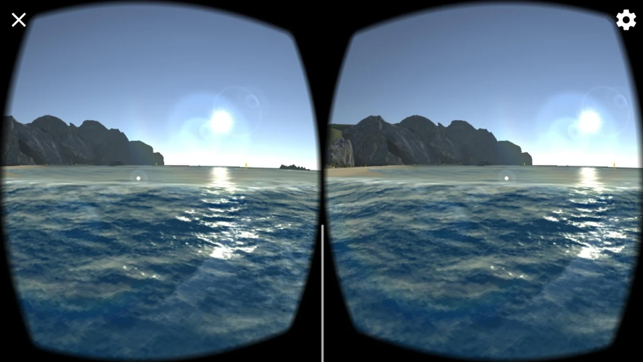 Famous Beaches VR на Андроид