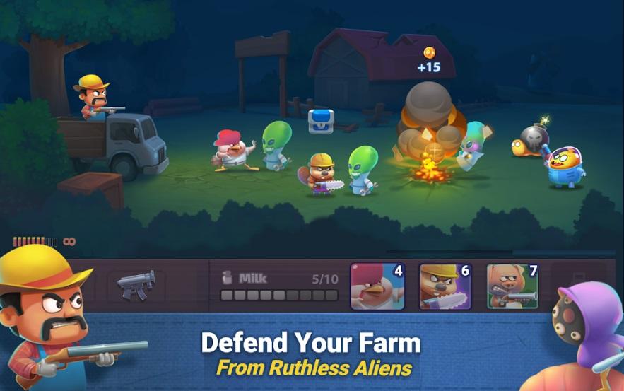 Farm Guns: Alien Clash