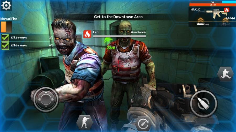 Fatal Raids на Андроид