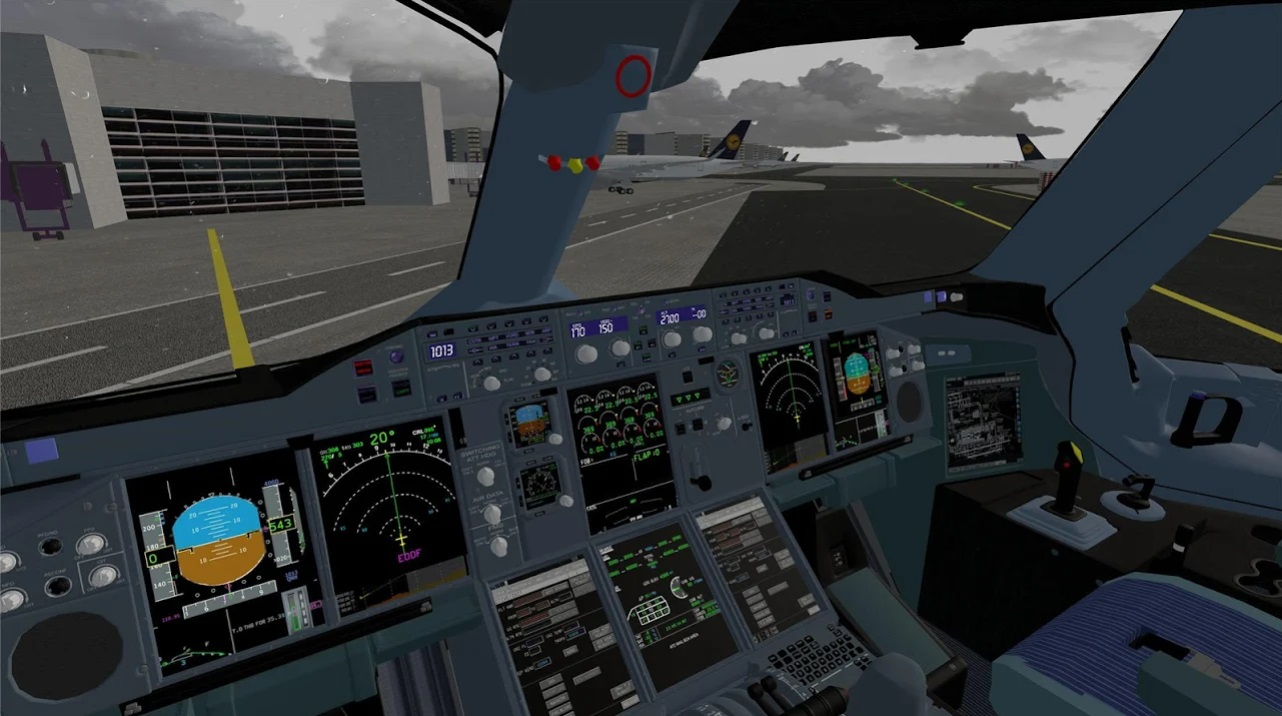 Flight Simulator Advanced на Андроид