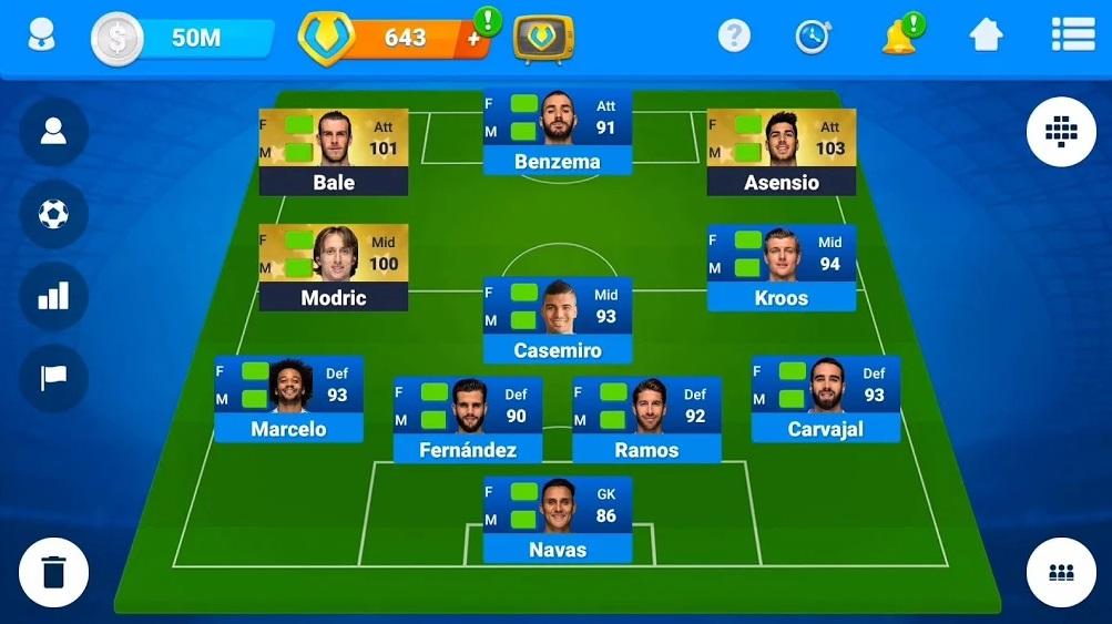 Футбольный Онлайн-Менеджер на Андроид
