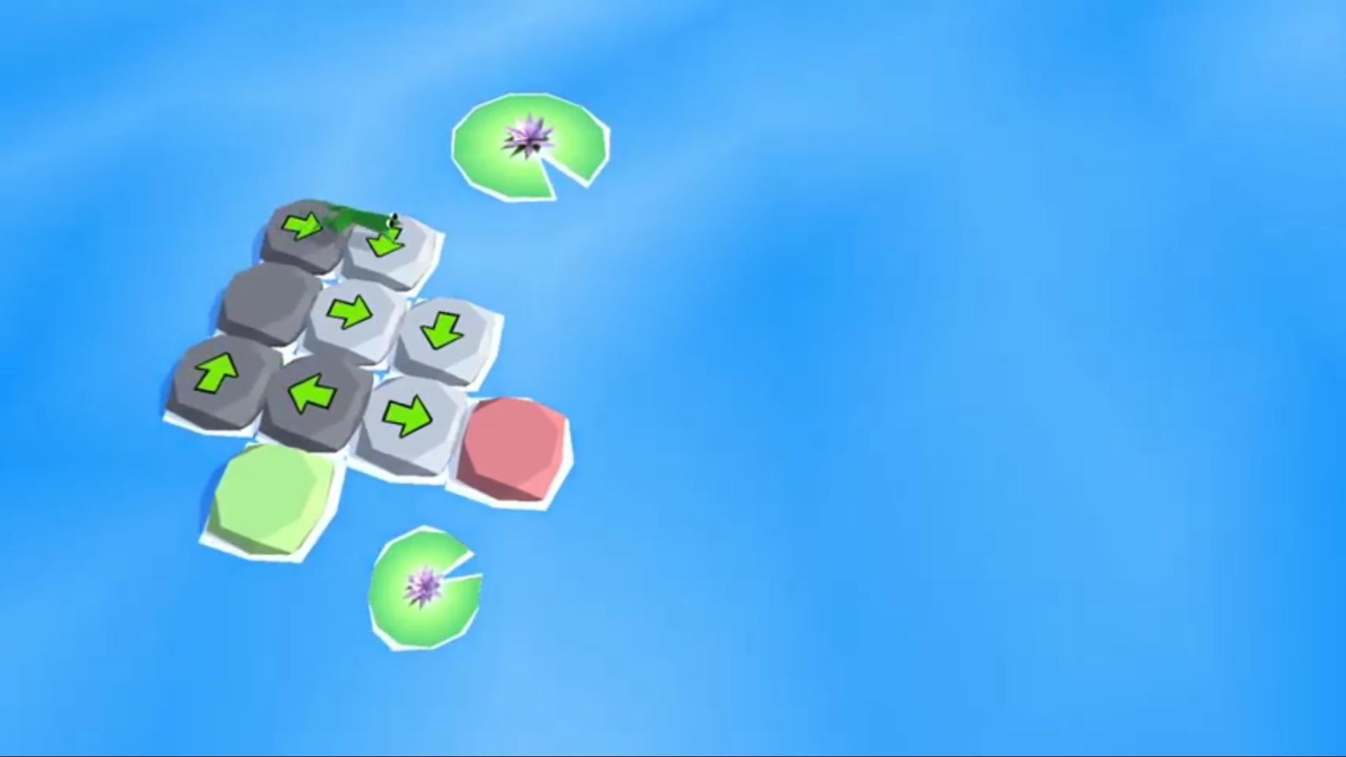 Frog Puzzle на Андроид