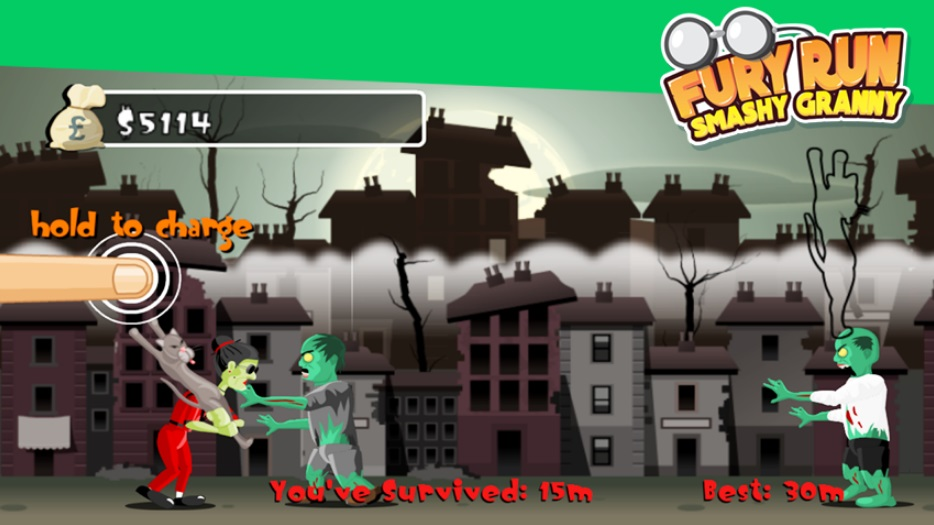 Fury Run: Smashy Granny на Андроид
