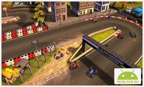 Гонки Bang Bang Racing THD для планшетов на Android