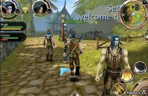 MMORPG Order & Chaos Online HD для планшетов на Android