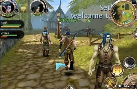 MMORPG Order & Chaos Online HD на Андроид