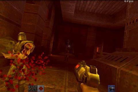 Порт с ПК Quake II для планшетов на Android