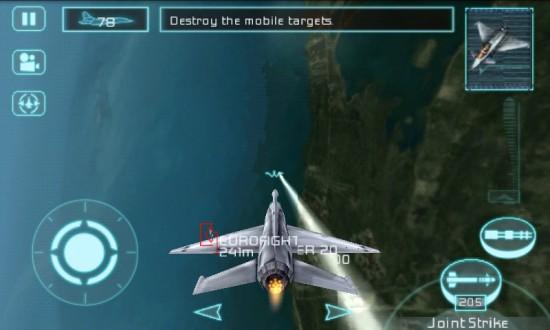 Авиасимулятор Tom Clancy's H.A.W.X на Андроид
