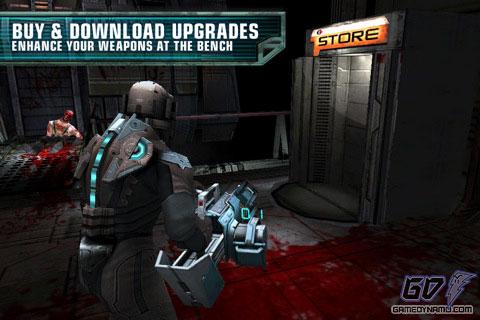 Мрачный 3D-экшен Dead Space для планшетов на Android