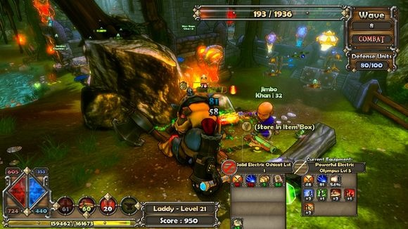 РПГ Dungeon Defenders: First Wave для планшетов на Android