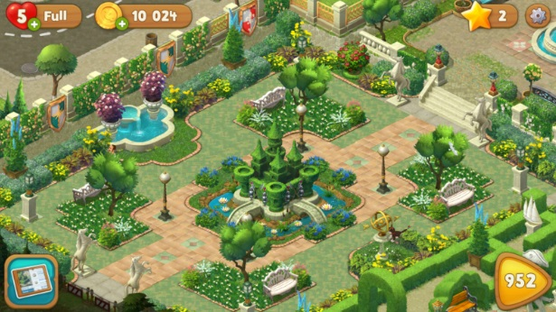 Gardenscapes - New Acres на ПК