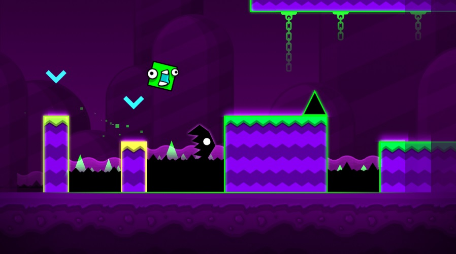 Geometry Dash World на Андроид