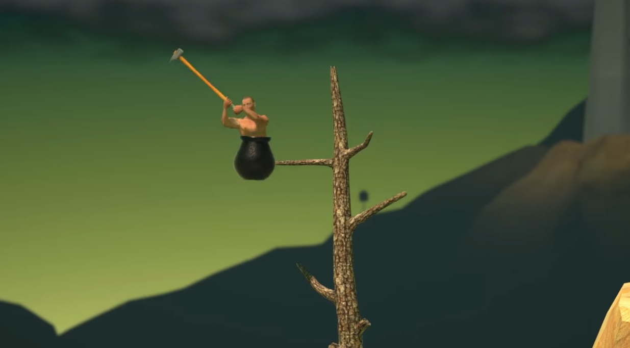 Getting Over It with Bennett Foddy на ПК
