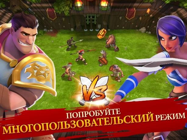 Gladiator Heroes на ПК