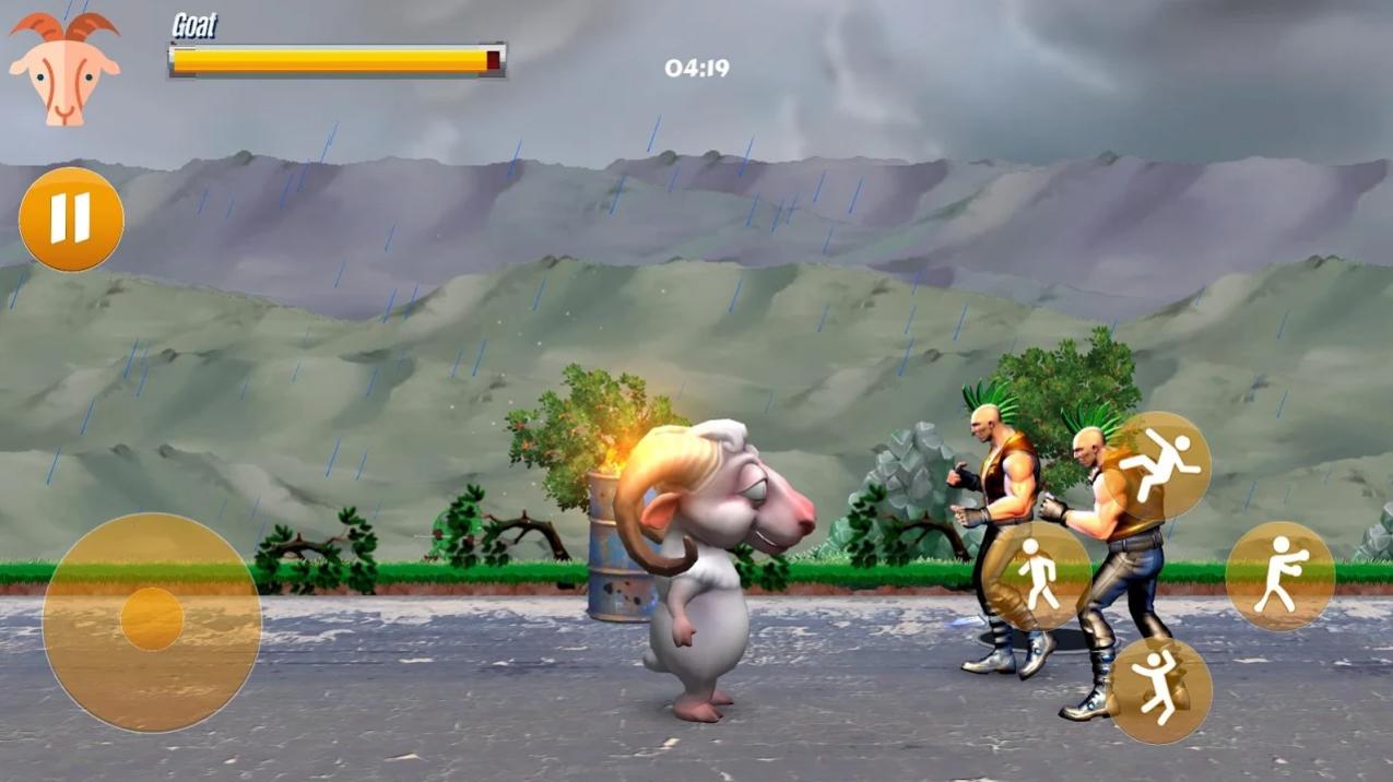 Goat's Battle The Game на Андроид