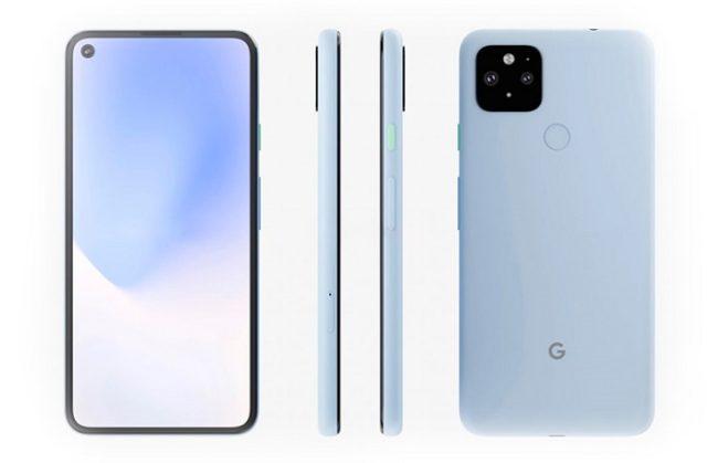 Google Pixel 5 цвета