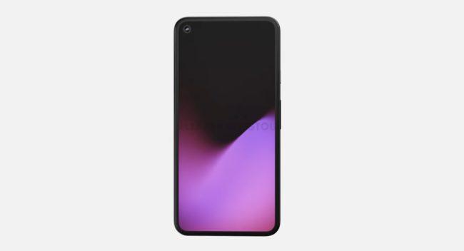 Google Pixel 5 экран