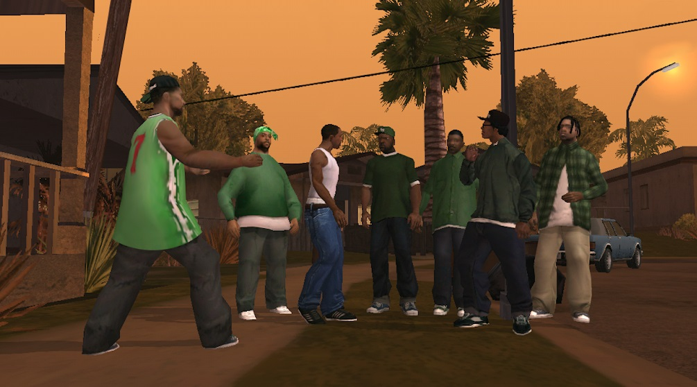 Grand Theft Auto: San Andreas на Андроид