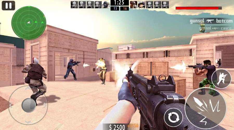 Gun Strike Shoot Killer на ПК