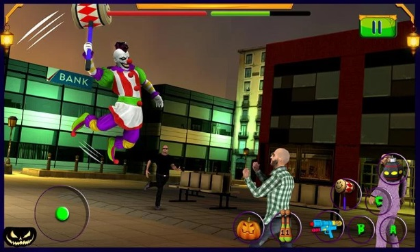 Scary Clown: Halloween Night на Андроид