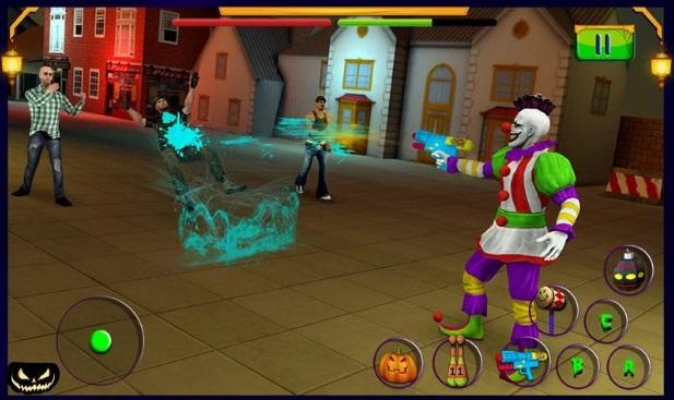 Scary Clown: Halloween Night на ПК