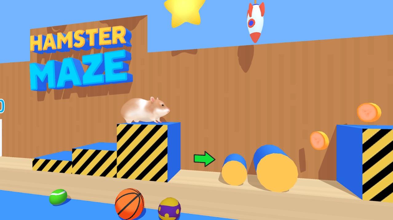Hamster Maze на Андроид